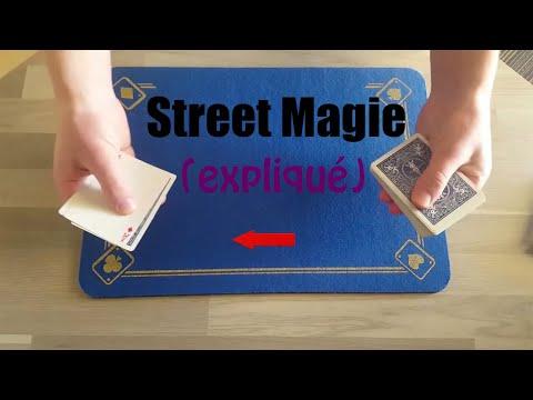 tour de magie carte facile et impressionnant tour de magie avec des cartes facile et impressionnant (Street
