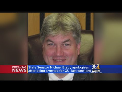 State Senator Michael Brady Arrested For Drunk Driving
