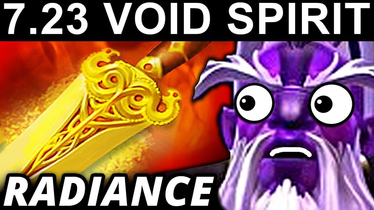 RADIANCE VOID SPIRIT – DOTA 2 PATCH 7.23 NEW META PRO GAMEPLAY