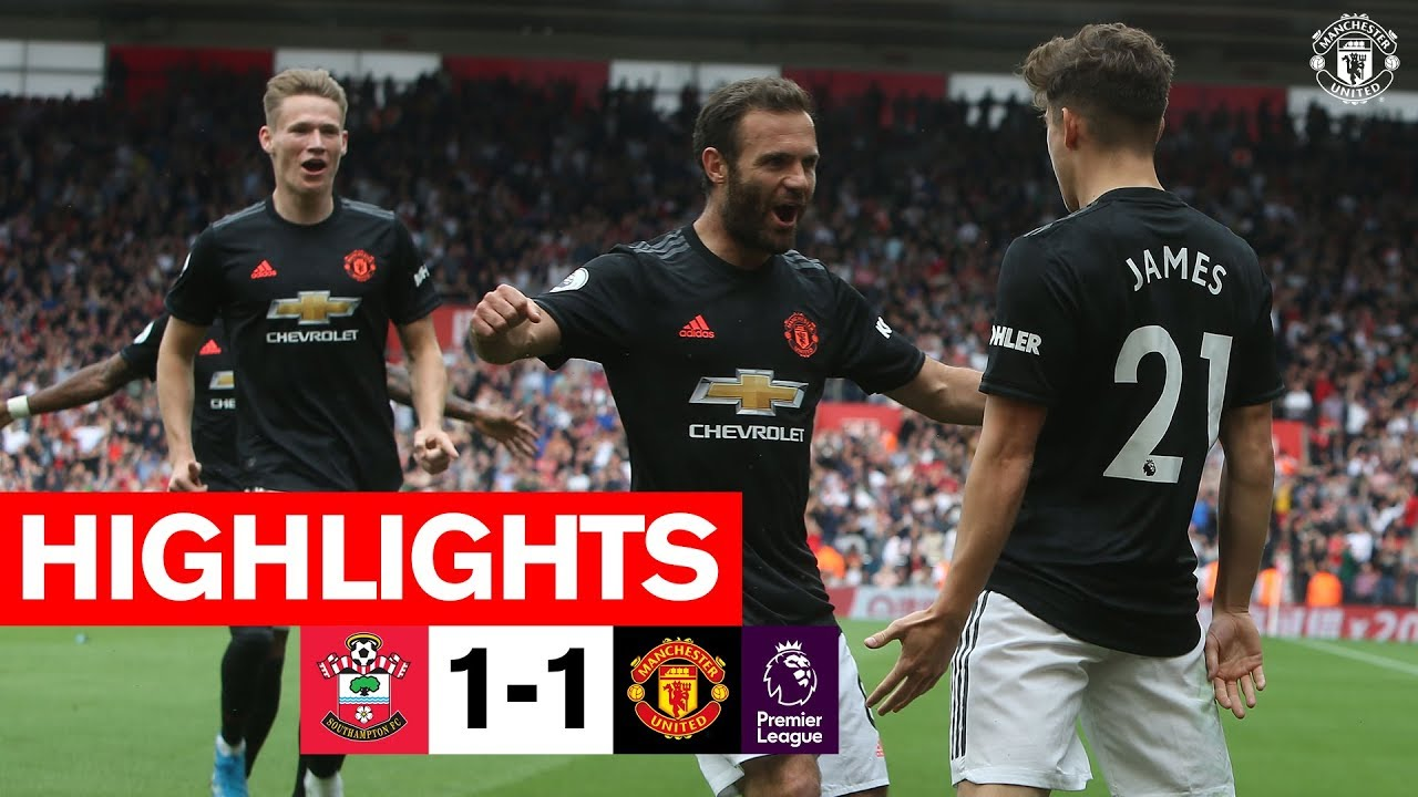 Highlights Southampton 1 1 Manchester United