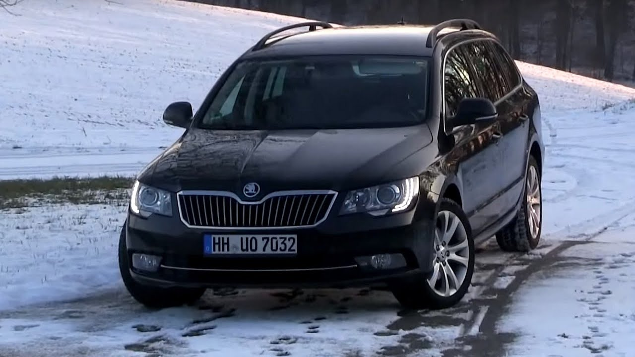 2015 skoda superb ii combi 2 0 tdi 170 hp test drive youtube. Black Bedroom Furniture Sets. Home Design Ideas