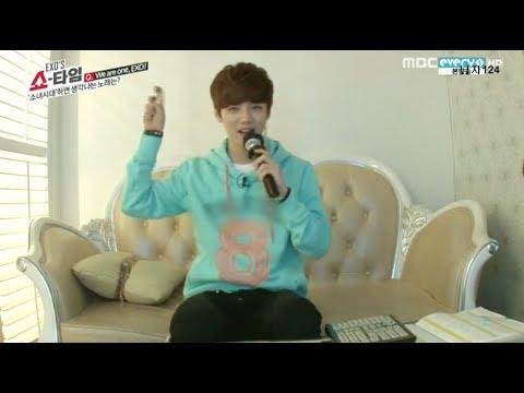 [HD] 140206 EXO Luhan Singing SNSD 'GEE'
