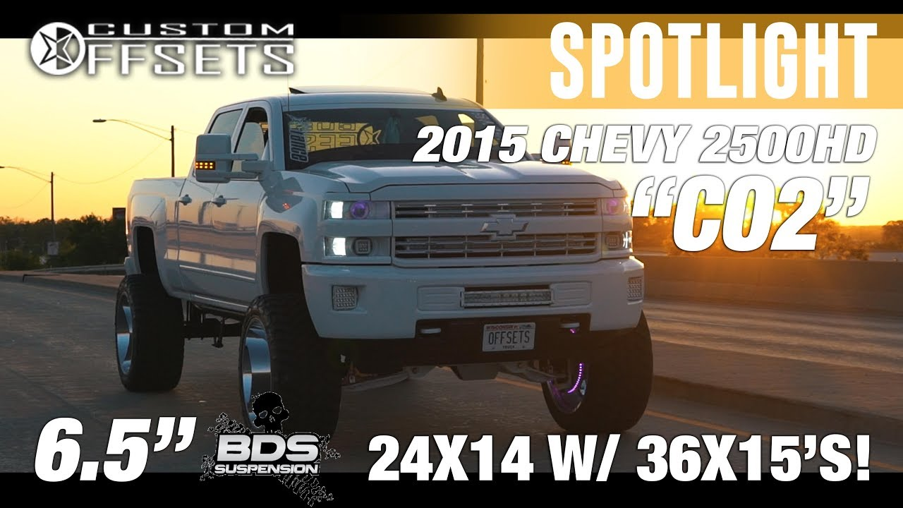 "Spotlight - ""CO2"" Makeover! 2015 Chevy Silverado 2500HD, 6 ..."