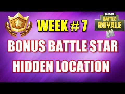 Fortnite - Bonus Battle Pass Star Secret Location (Week 7)