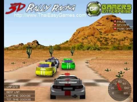 3D Rally Racing เกมส์แข่งรถแรลลี่ 3 มิติ