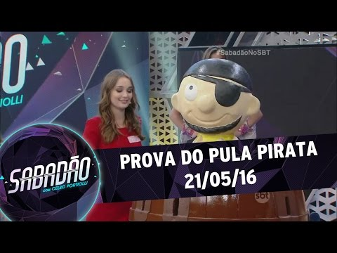 Sabadão com Celso Portiolli (21/05/16) - Prova do Pula Pirata