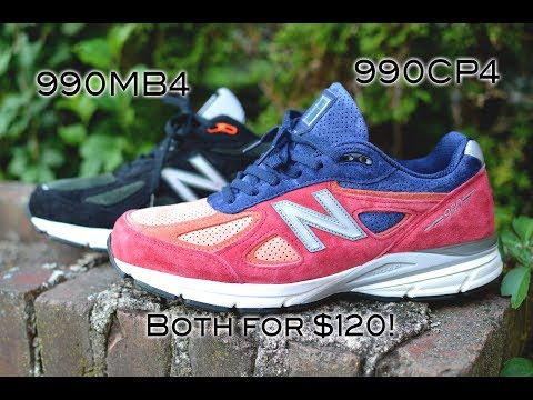 """New Balance 990V4 is the Best Sneaker Value Right Now!   """"Copper Rose"""" & """"Black and Rosin"""" Review"""