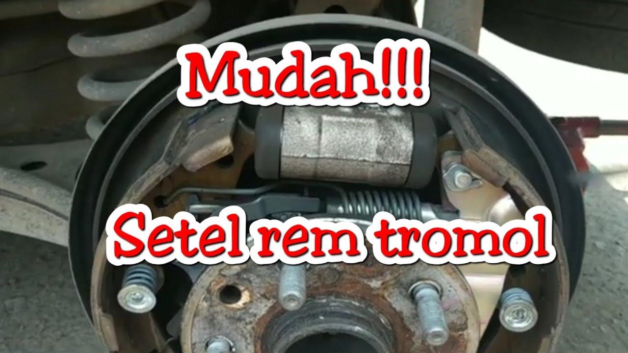 Tutorial Cara Setel Rem Parkir / Hand rem / Rem tromol ...
