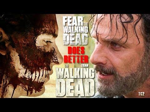 What Fear the Walking Dead does Better than The Walking Dead!