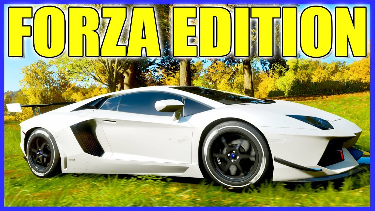Forza Horizon 4 Lamborghini Aventador Forza Edition Rare Youtube