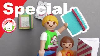 Playmobil Film deutsch Pimp my PLAYMOBIL Notizbücher / Basteln für Kinder / Family Stories