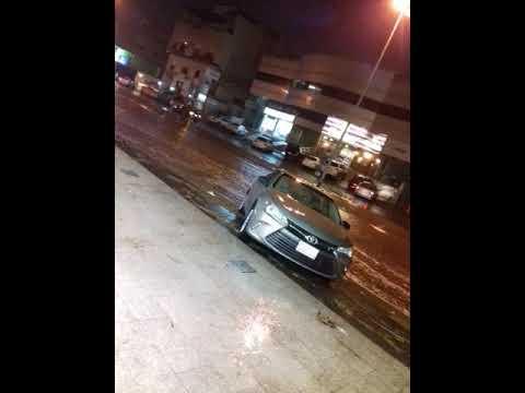 Hello friends today saudi arabia city jeddah heavy rain