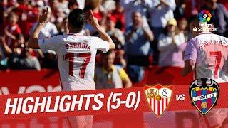 Highlights Sevilla FC vs Levante UD (5-0)