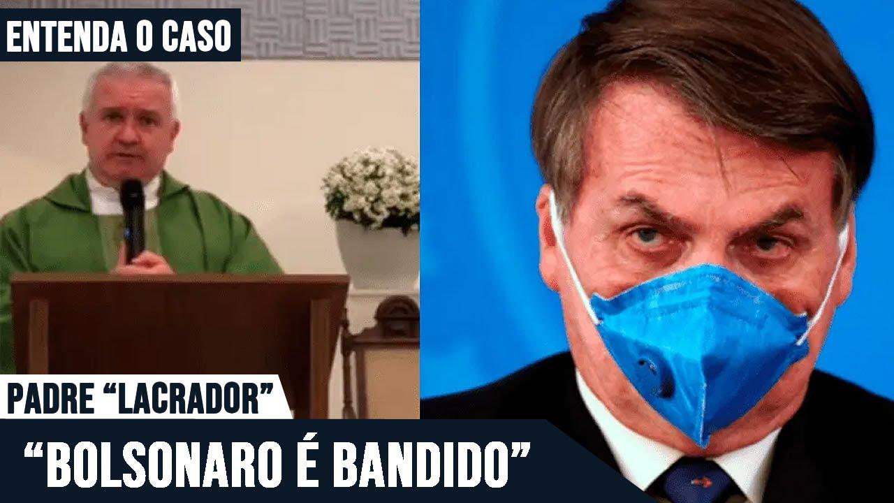 Padre ADÉLIO chama Bolsonaro de bandido