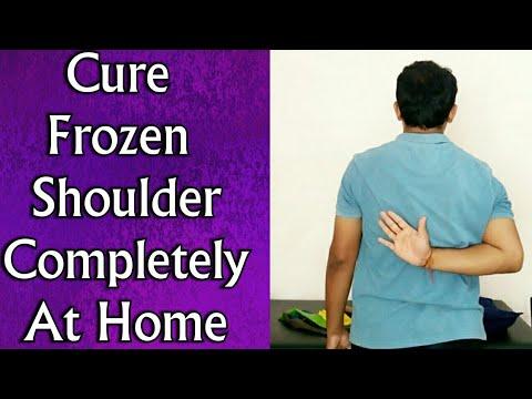 FROZEN SHOULDER Treatment - Cure Frozen Shoulder Completely At Home - Full EXERCISE Program