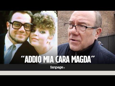 """Carlo Verdone ai funerali della 'sua' Magda: """"Era una persona buona, me la presentò Sergio Leone"""""""