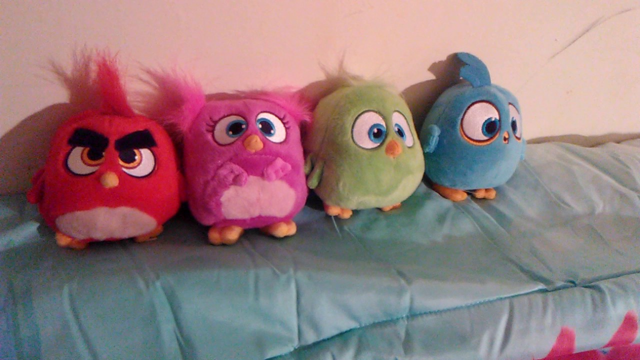 Angry Birds Hatchling Plush Toys Complete Youtube