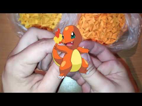 """Как сделать покемона """"Чармандер\Charmander"""" из бумаги в стиле Модульное оригами своими руками"""