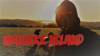 Backpacking Waiheke Island, New Zealand by scooter
