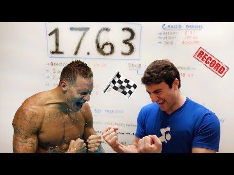 How Caeleb Dressel Swims A 17.63 50 Yard Freestyle | Whiteboard Wednesday