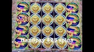 PRECIOUS JADE HANDPAY ~ MAMMOTH POWER ~ DANCING DRUMS ~ BENGAL TREASURES BONUS ROUNDS SLOT MACHINE