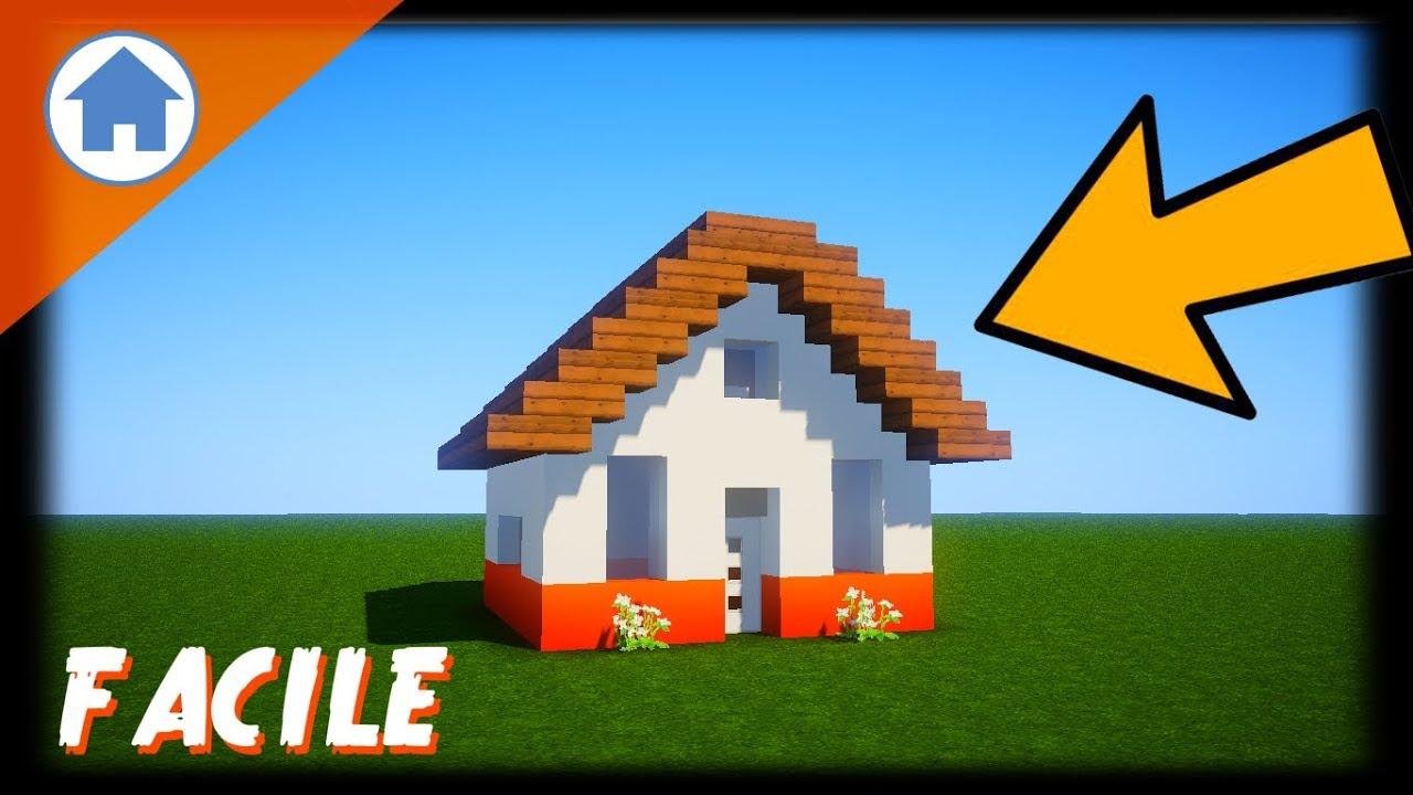 MINECRAFT : comment faire une petite maison (ps4) - YouTube
