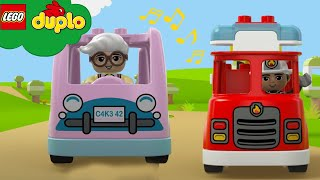 LEGO DUPLO - All Kinds of Trucks | Learning For Toddlers | Nursery Rhymes | Cartoons and Kids Songs