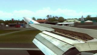 FS2004 - Landing at St. Maarten