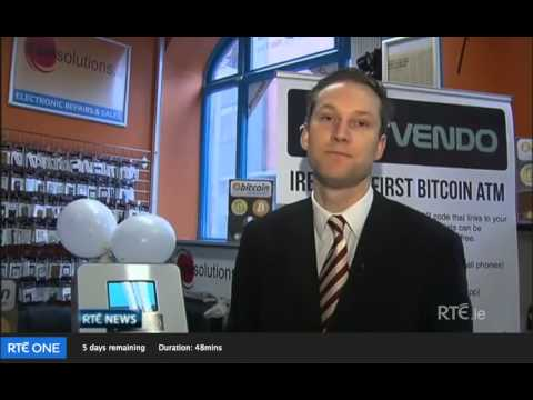 Irelands first ever Bitcoin ATM in GSMsolutions, Dublin.