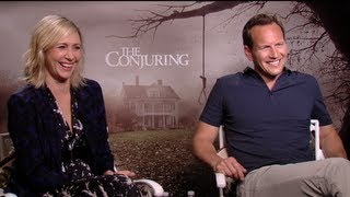 THE CONJURING Interviews: Patrick Wilson, Vera Farmiga, Lili Taylor, Ron Livingston and James Wan