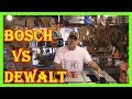 BOSCH GTS1031  VS  DEWALT DWE7480  10-INCH PORTABLE JOBSITE TABLE SAW REVIEW