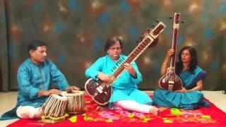 Aaj Jaane ki Zidd na kkaro on Sitar by Shri Chandrashekhar Phanse.
