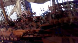 Hms Victory, Wooden Model Ship Scale 1/89