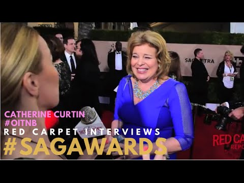 Catherine Curtin OITNB on the 22nd Annual Screen Actors Guild Awards Red Carpet SAGAwards
