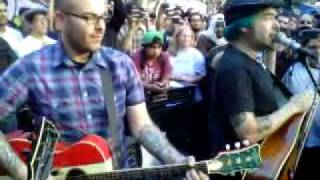 Fat Mike and Eric Melvin at Occupy LA