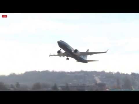 Boeing 737 Max 7 - First Flight