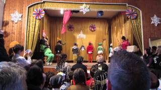 Bárna - iskolai farsang - 3. osztály