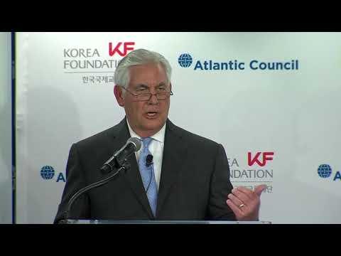 Secretary of State REX TILLERSON on U.S. Korea Policy 12/12/2017