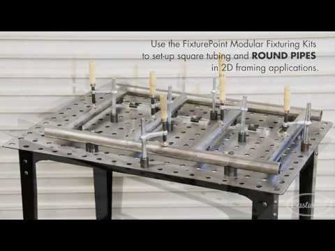 Fixture Table - Great for Precision Fabrication & Welding - Eastwood