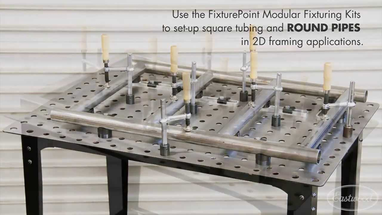 Fixture Table Great For Precision Fabrication amp Welding Eastwood YouTube