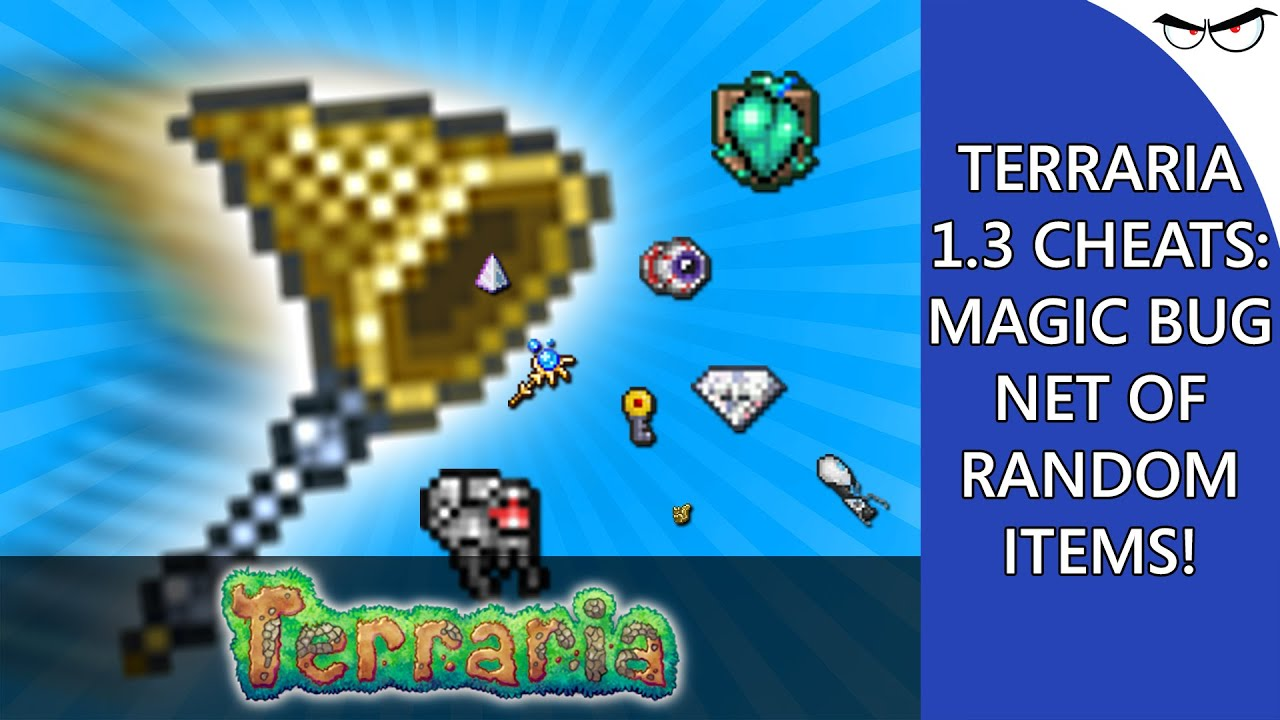 terraria how to make a net with crafting
