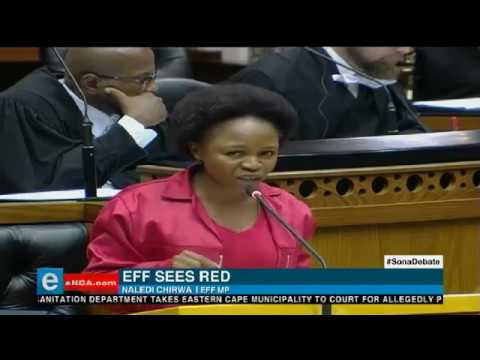 EFF sees red