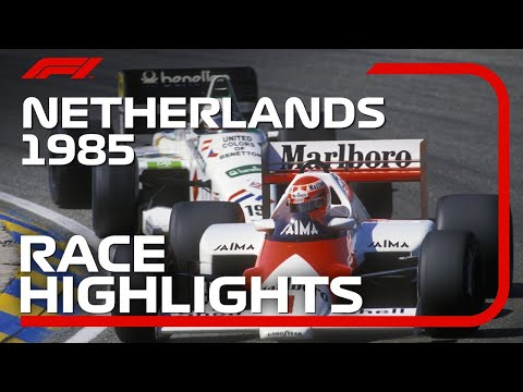 The Last Time F1 Raced At Zandvoort... | Race Highlights - 1985 Dutch Grand Prix
