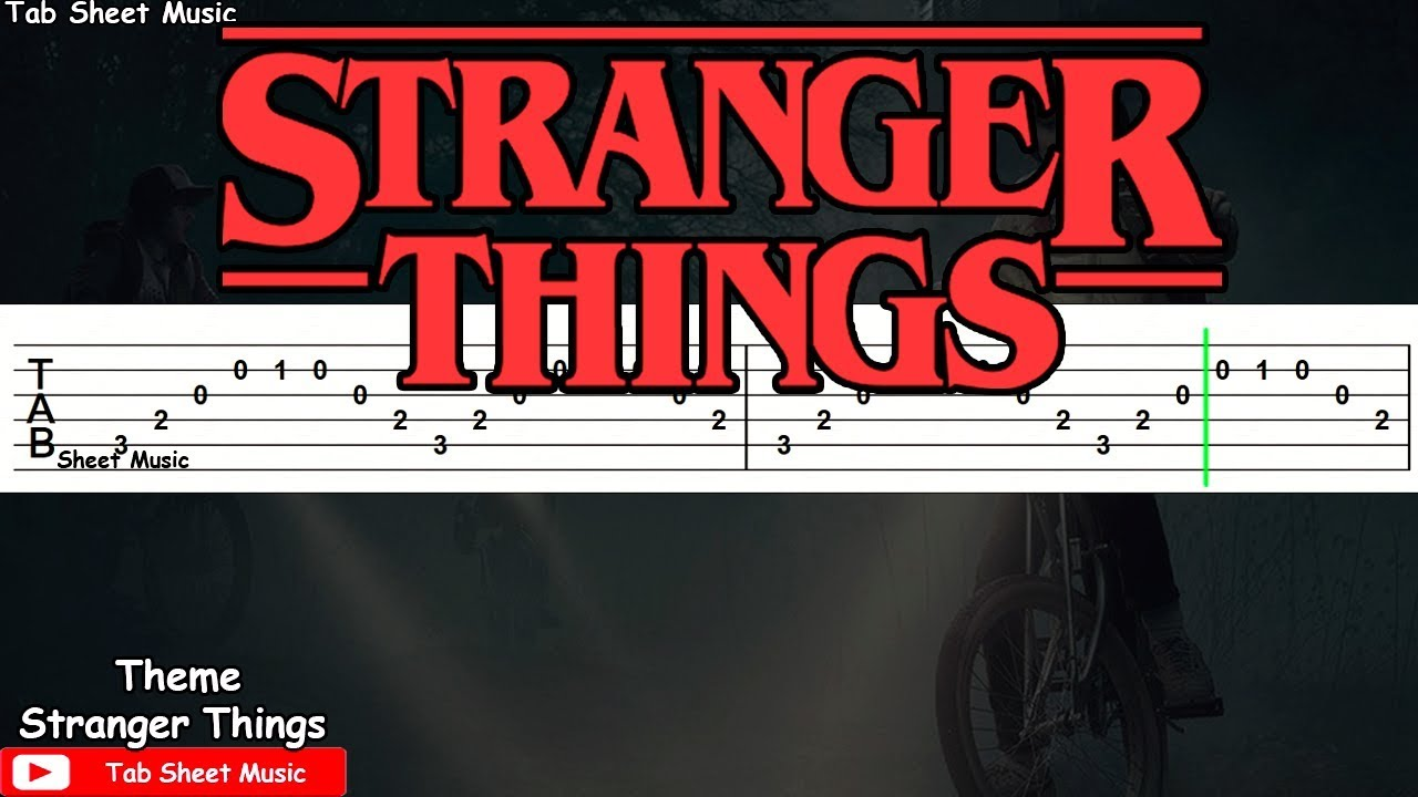 how to play the stranger things theme on piano