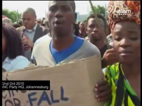Africa This Week Ep21 P1 Student Protests in South Africa 241015