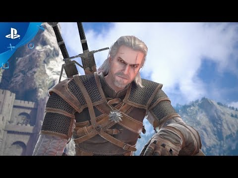 Soulcalibur VI - Geralt of Rivia Reveal Trailer | PS4