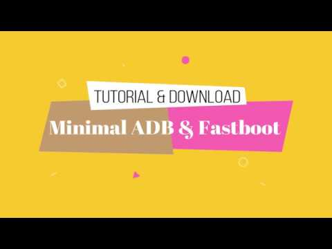 Download and Install Minimal ADB and Fastboot With Tutorial
