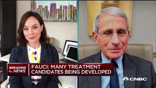 Watch CNBC's full interview Dr. Anthony Fauci