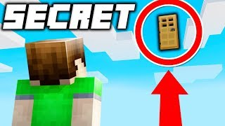 11 Secret Entrances that are IMPOSSIBLE to Reach in Minecraft!