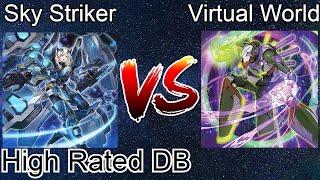 Sky Striker Vs Virtual World High Rated DB Yu-Gi-Oh! 2021